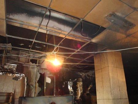 文安县某火灾现场检测